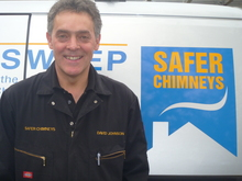David Johnson - chimney sweep - Safer Chimneys - Hampshire